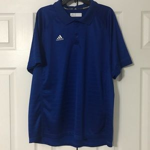 Men's Royal Blue Adidas Golf Shirt